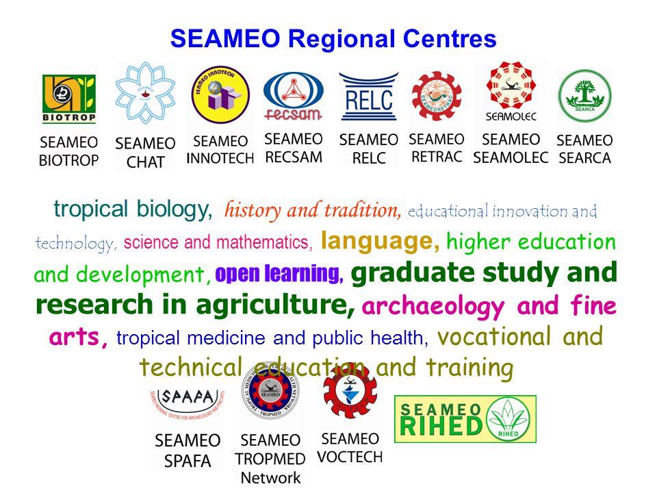 SEAMEO Regional Centres