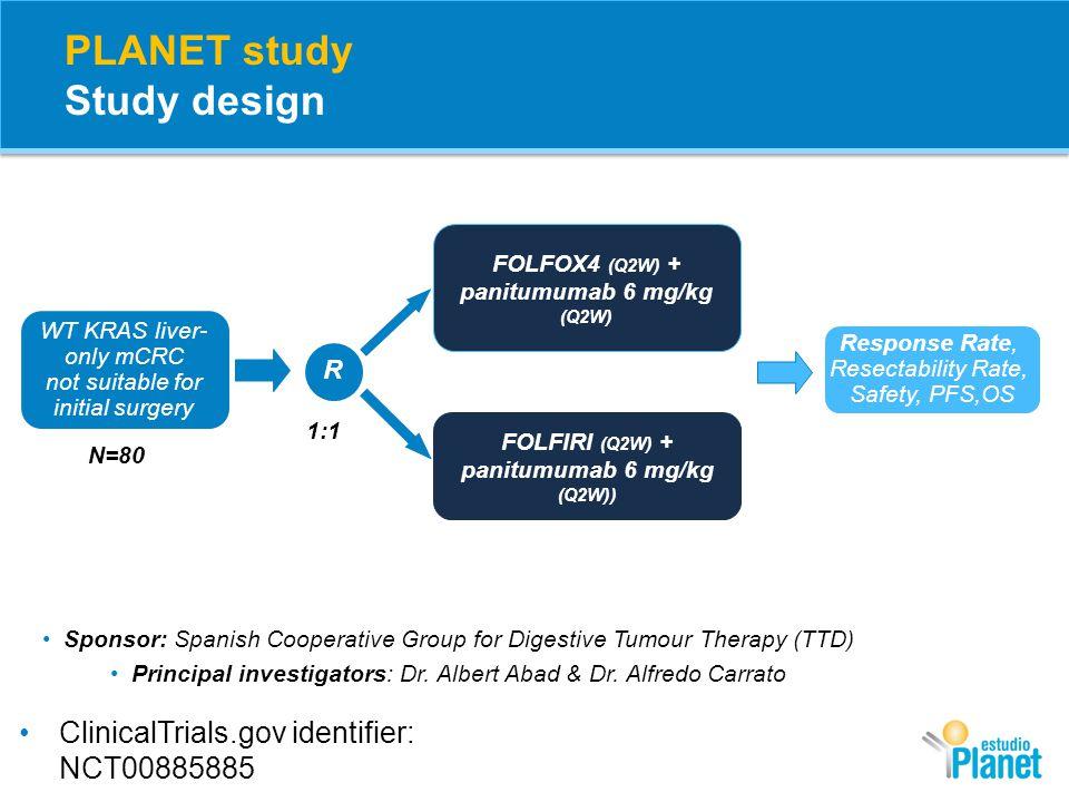 PLANET study Study design