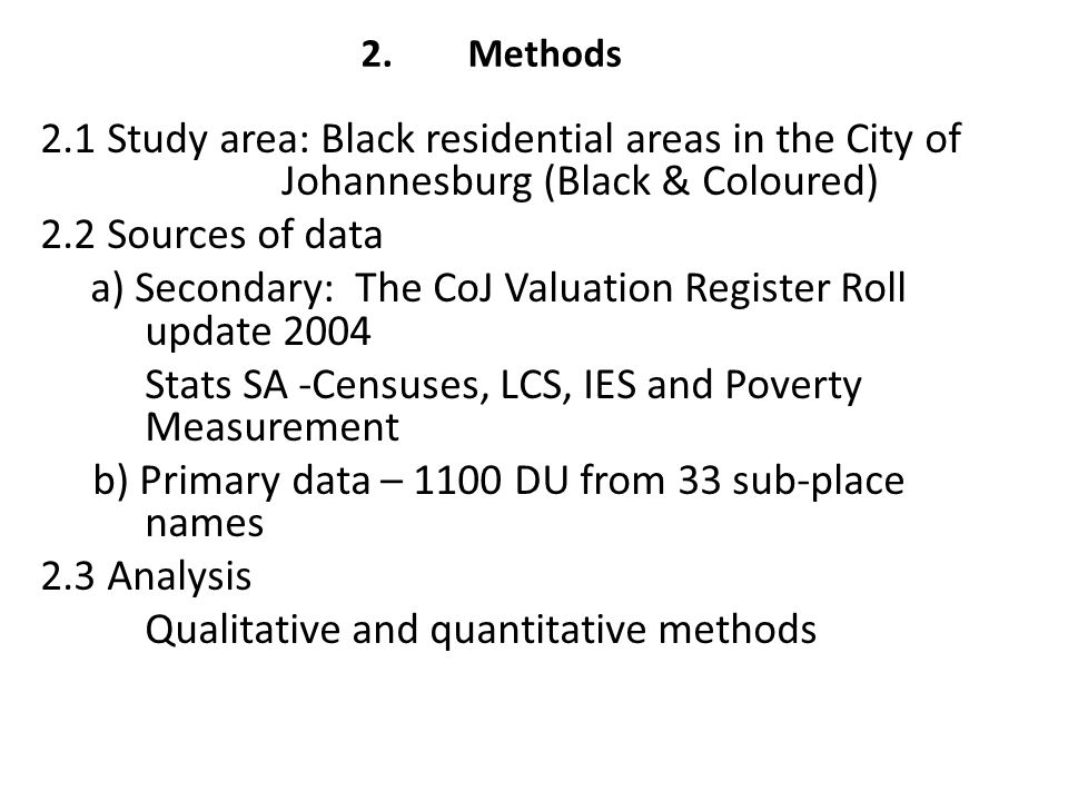2. Methods