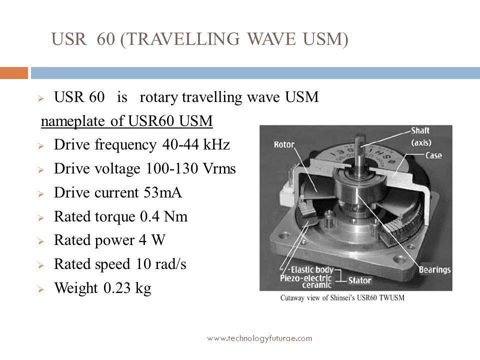 USR 60 (TRAVELLING WAVE USM)