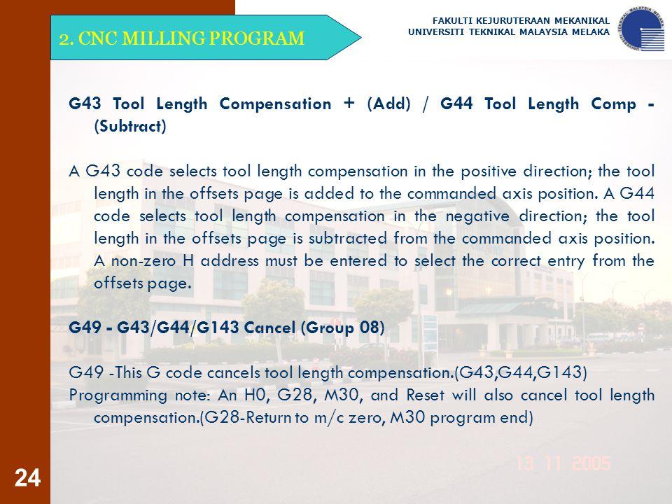 G49 - G43/G44/G143 Cancel (Group 08)