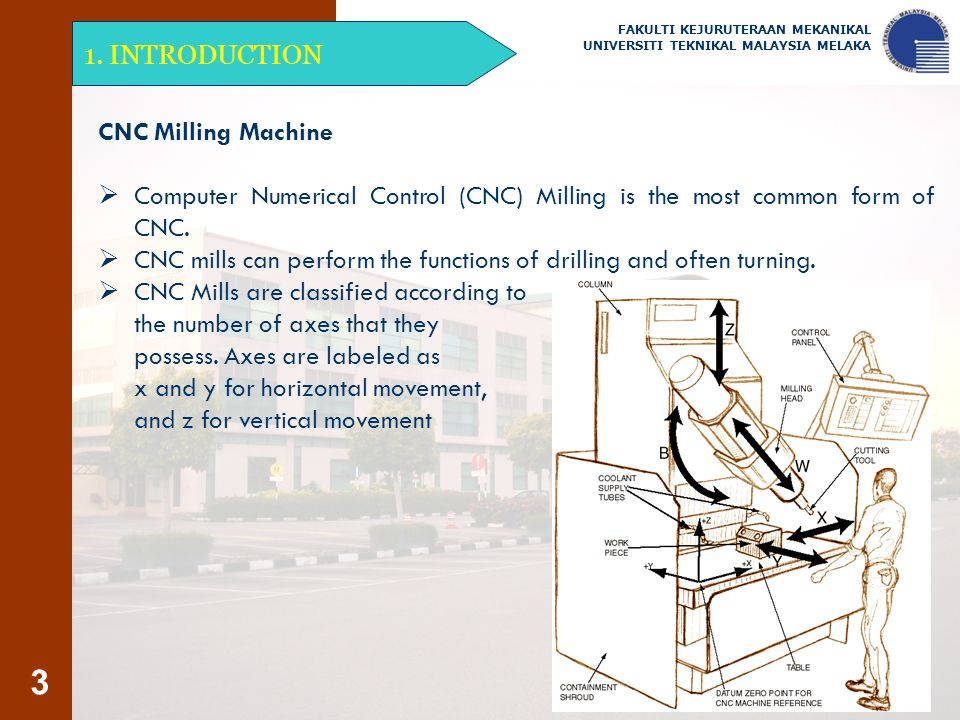 CNC mills can perform the functions of drilling and often turning.