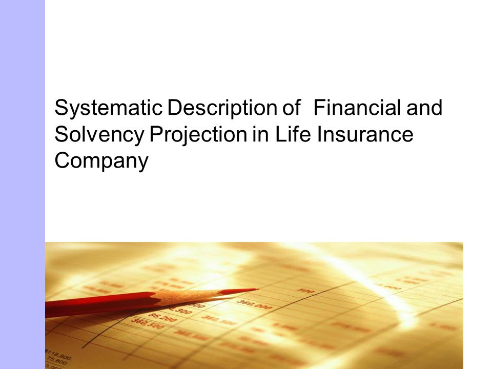 Life Insurance Company Life Insurance Company Solvency Ratio