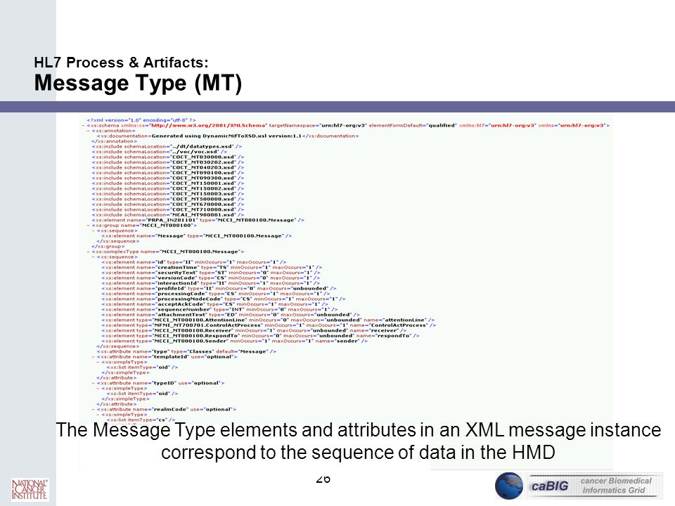 HL7 Process & Artifacts: Message Type (MT)