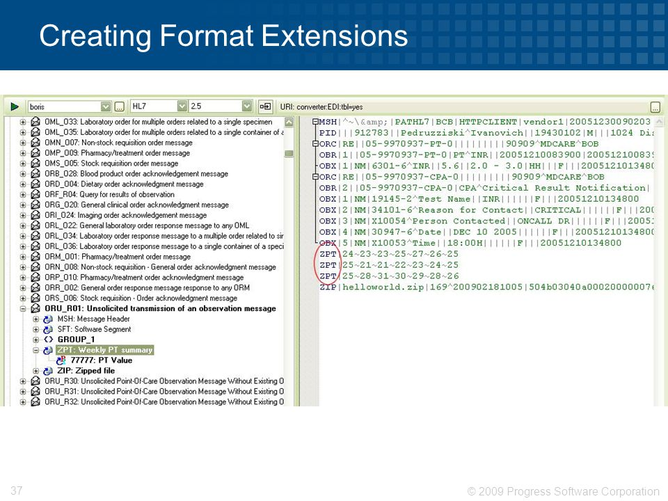 Creating Format Extensions