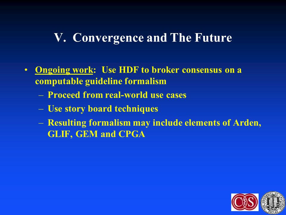 V. Convergence and The Future