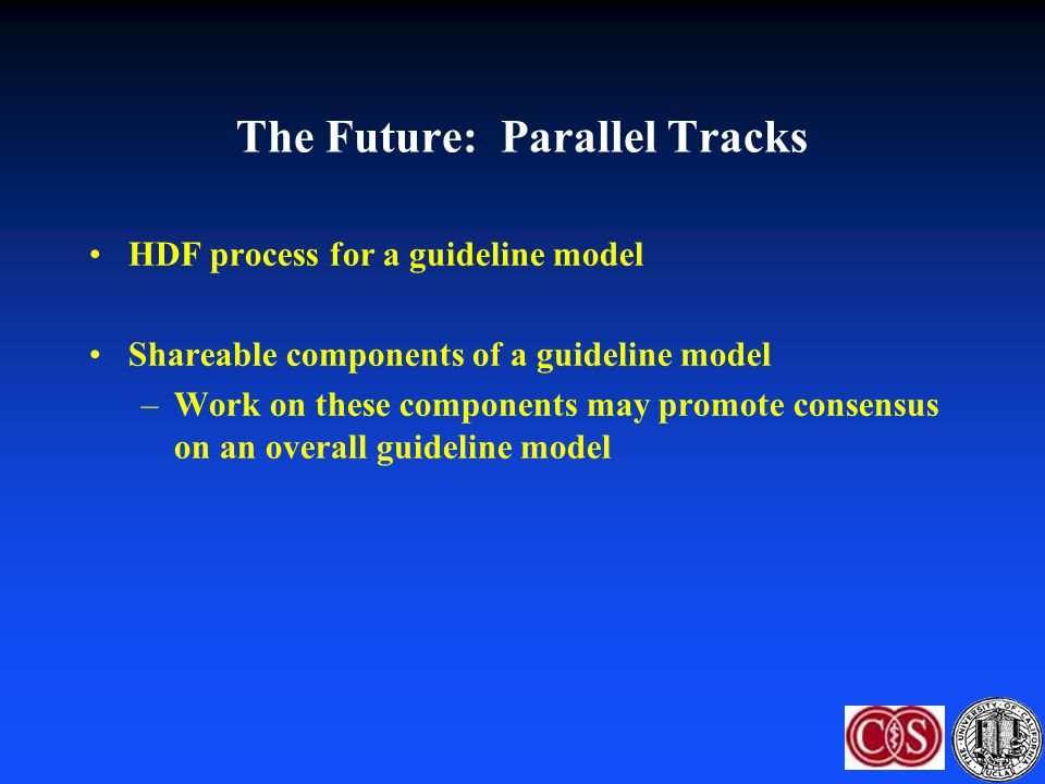 The Future: Parallel Tracks