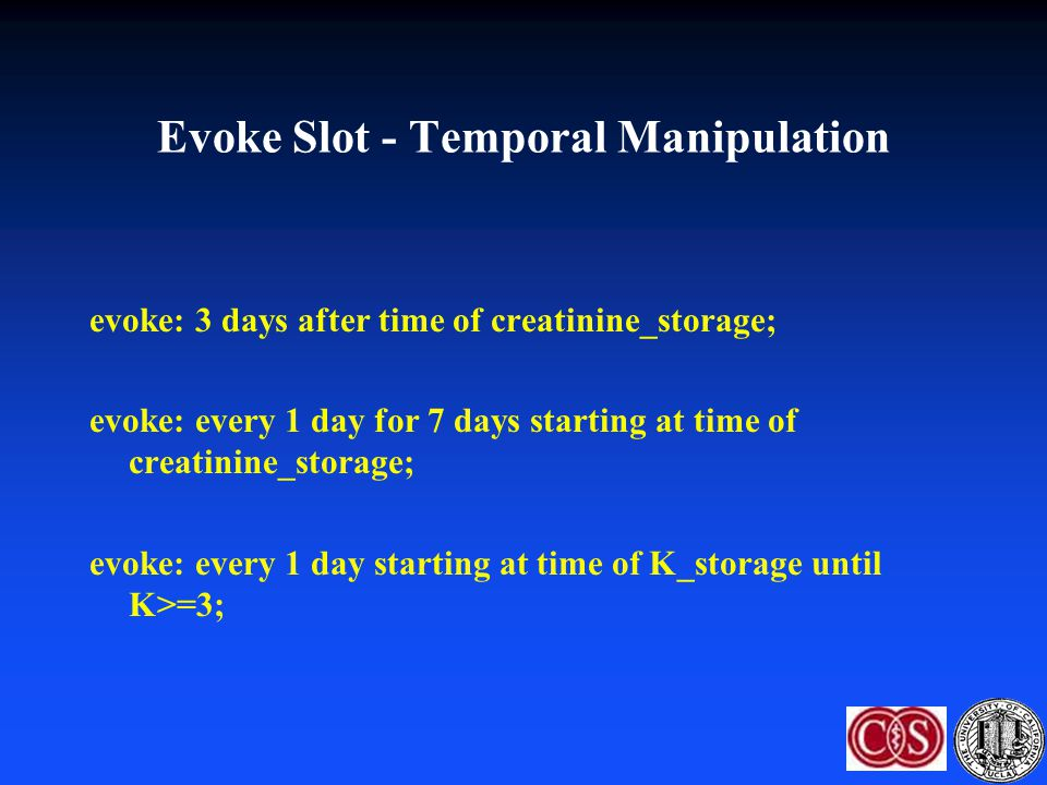 Evoke Slot - Temporal Manipulation