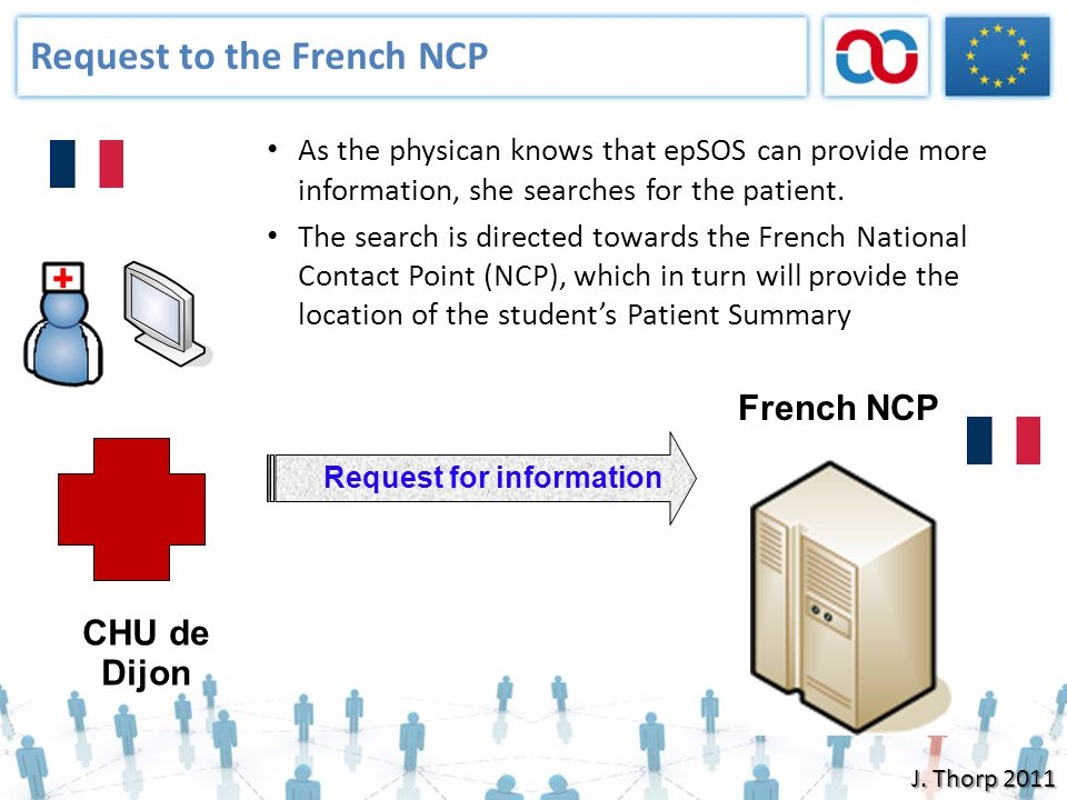 Request to the French NCP