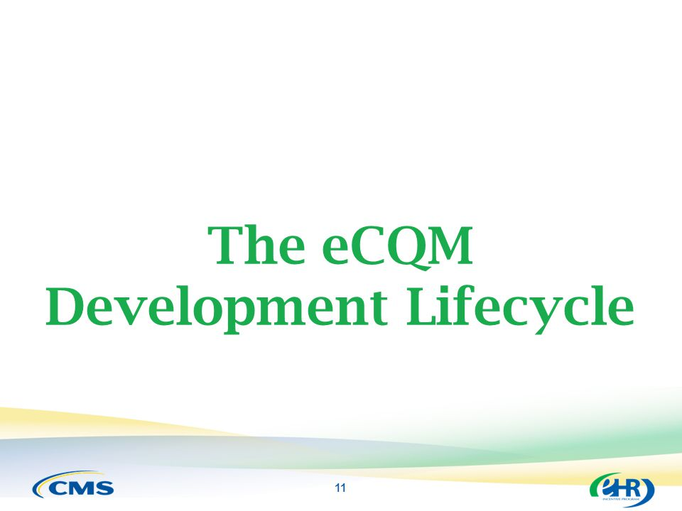 The eCQM Development Lifecycle
