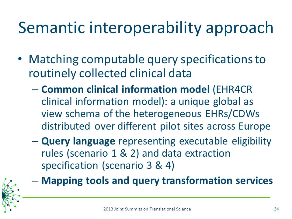 Semantic interoperability approach