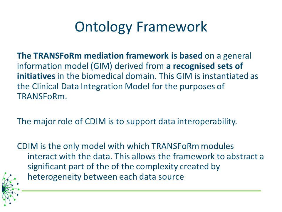 Ontology Framework