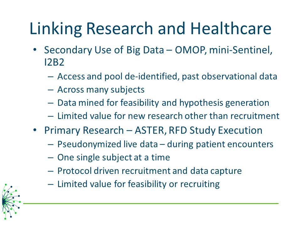 Linking Research and Healthcare
