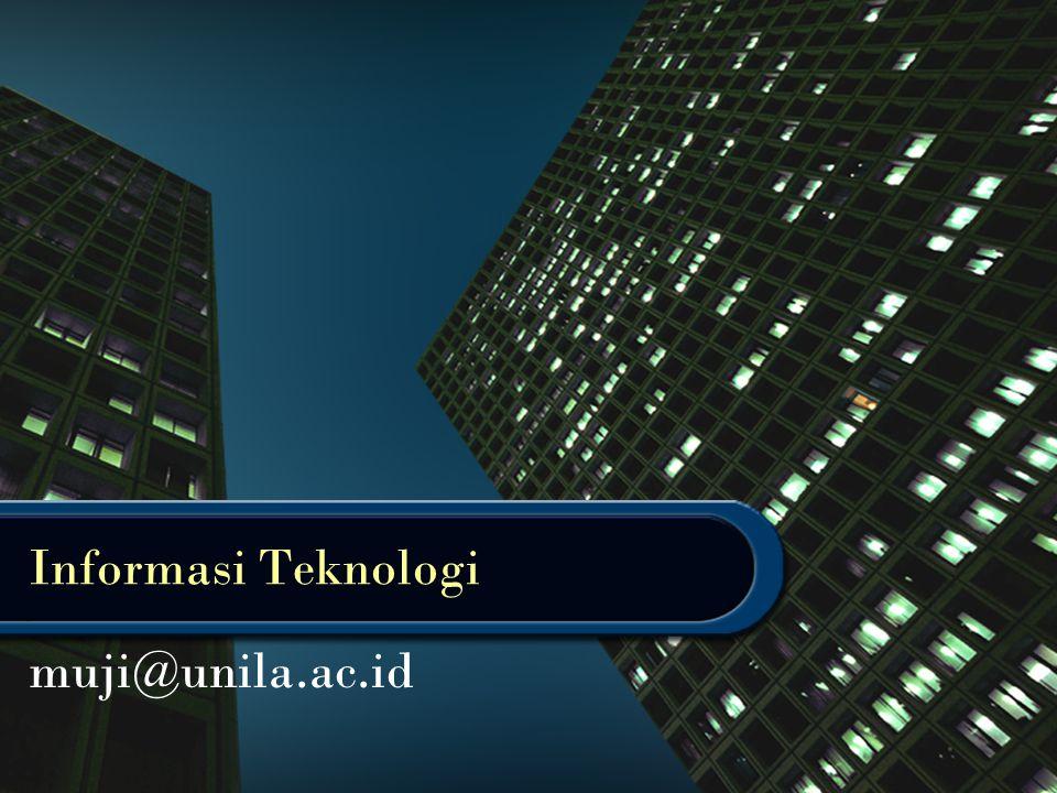 Informasi Teknologi muji@unila.ac.id