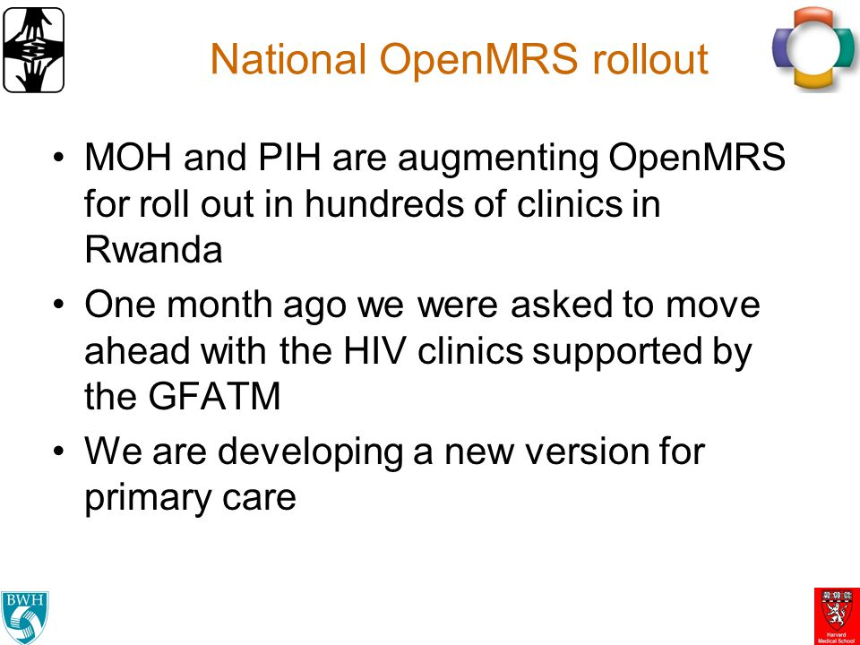 National OpenMRS rollout