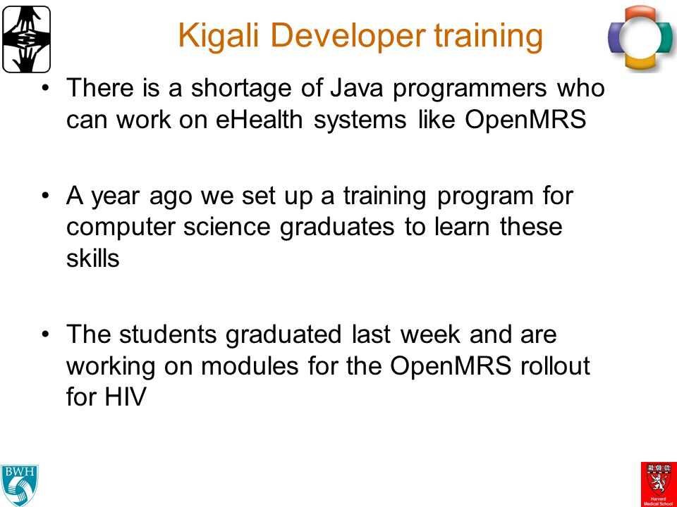 Kigali Developer training