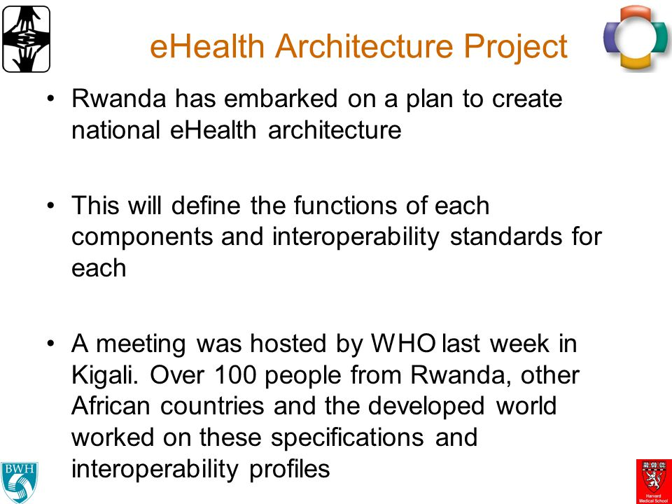 eHealth Architecture Project