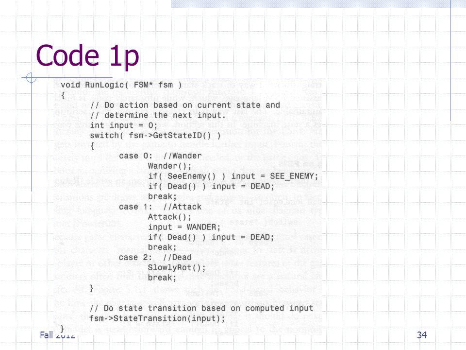 Code 1p Fall 2012