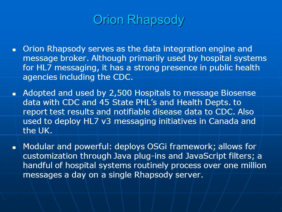Orion Rhapsody