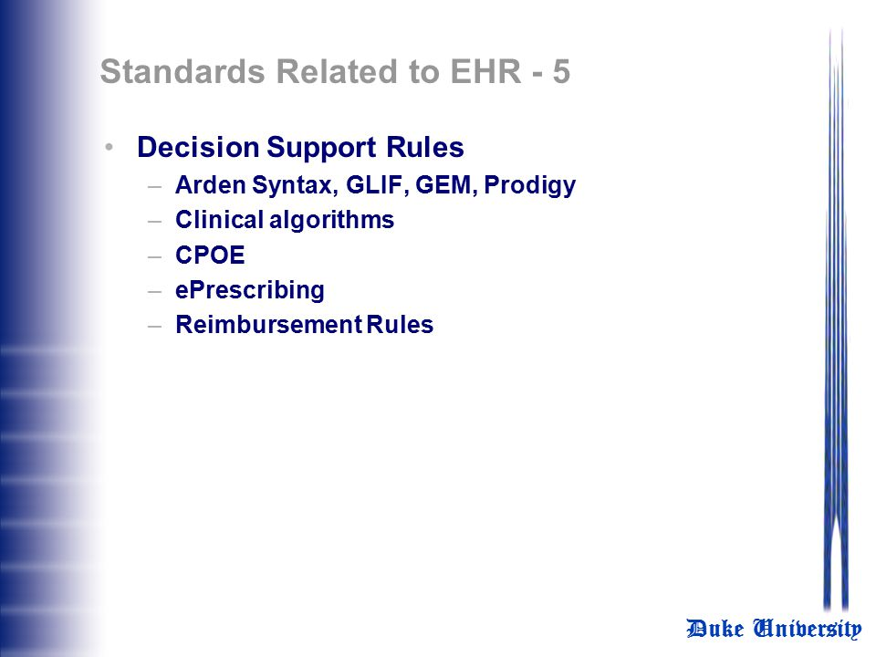 Standards Related to EHR - 5