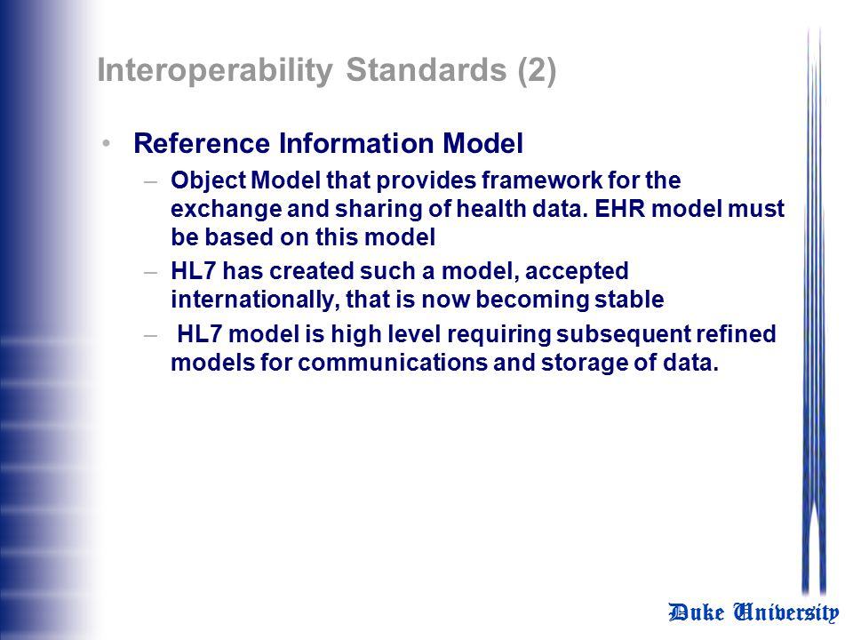 Interoperability Standards (2)