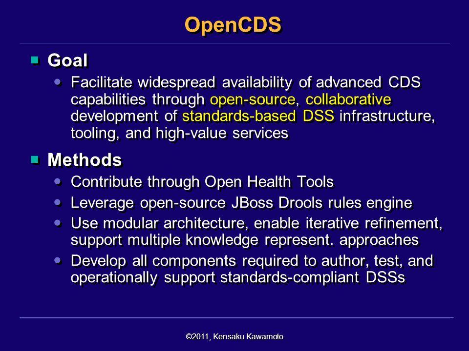 OpenCDS Goal.