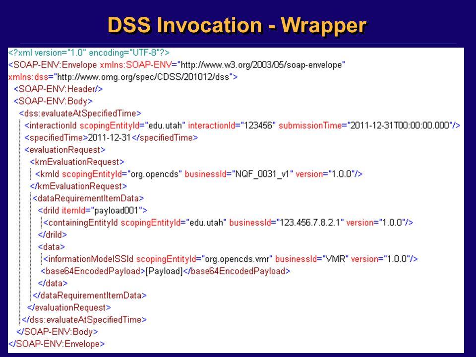 DSS Invocation - Wrapper