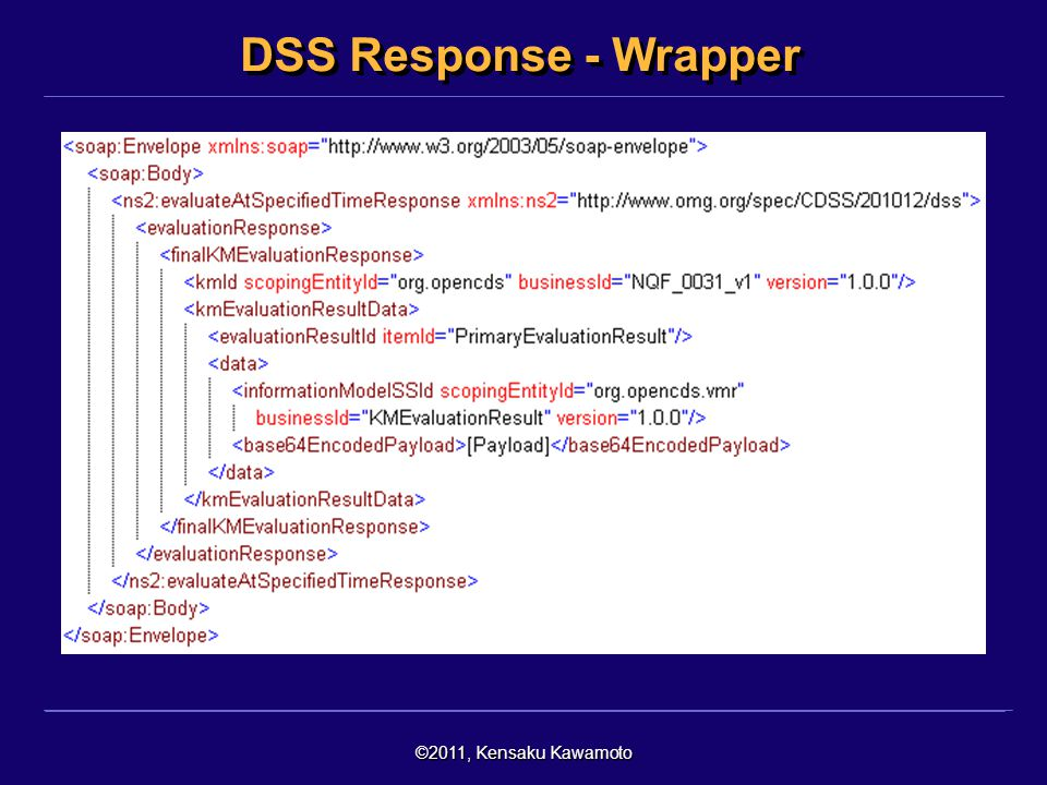DSS Response - Wrapper