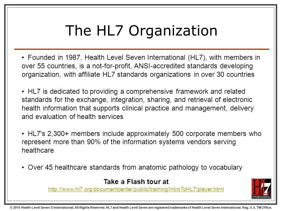 The HL7 Organization