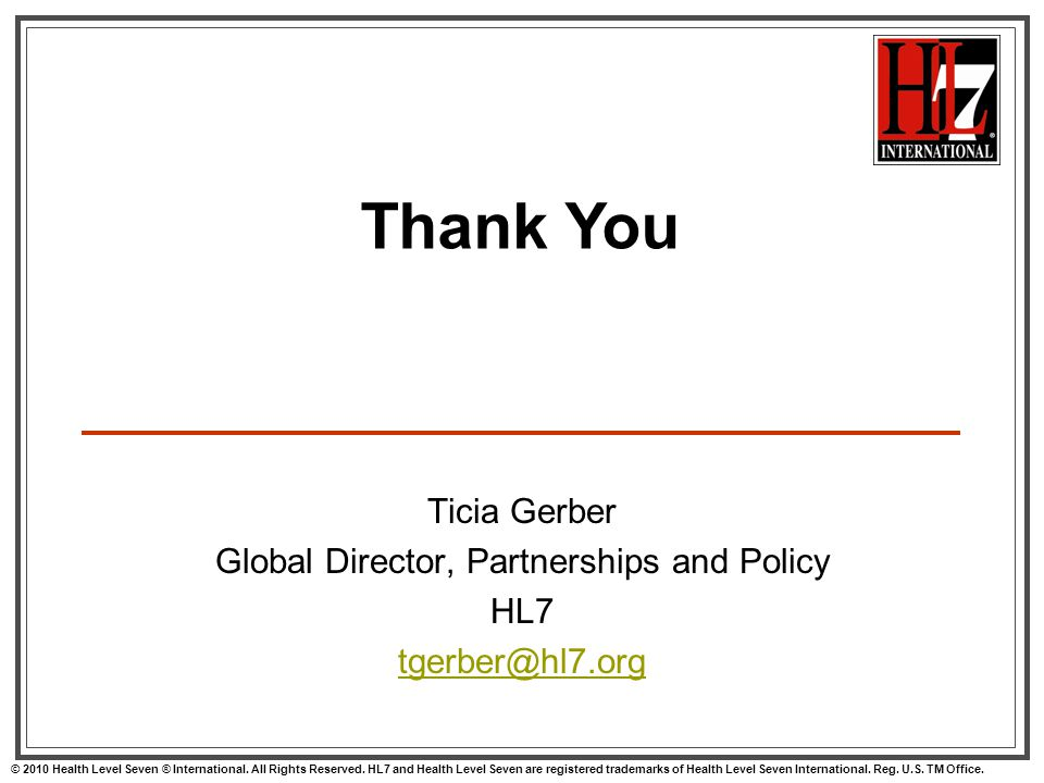 Global Director, Partnerships and Policy