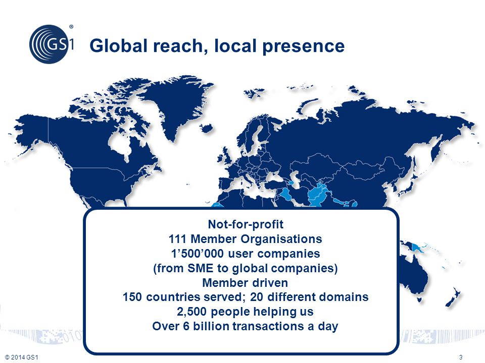 Global reach, local presence