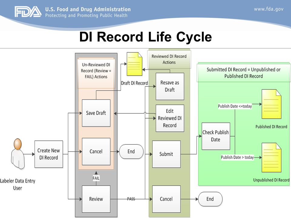 DI Record Life Cycle