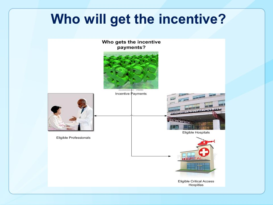 Who will get the incentive