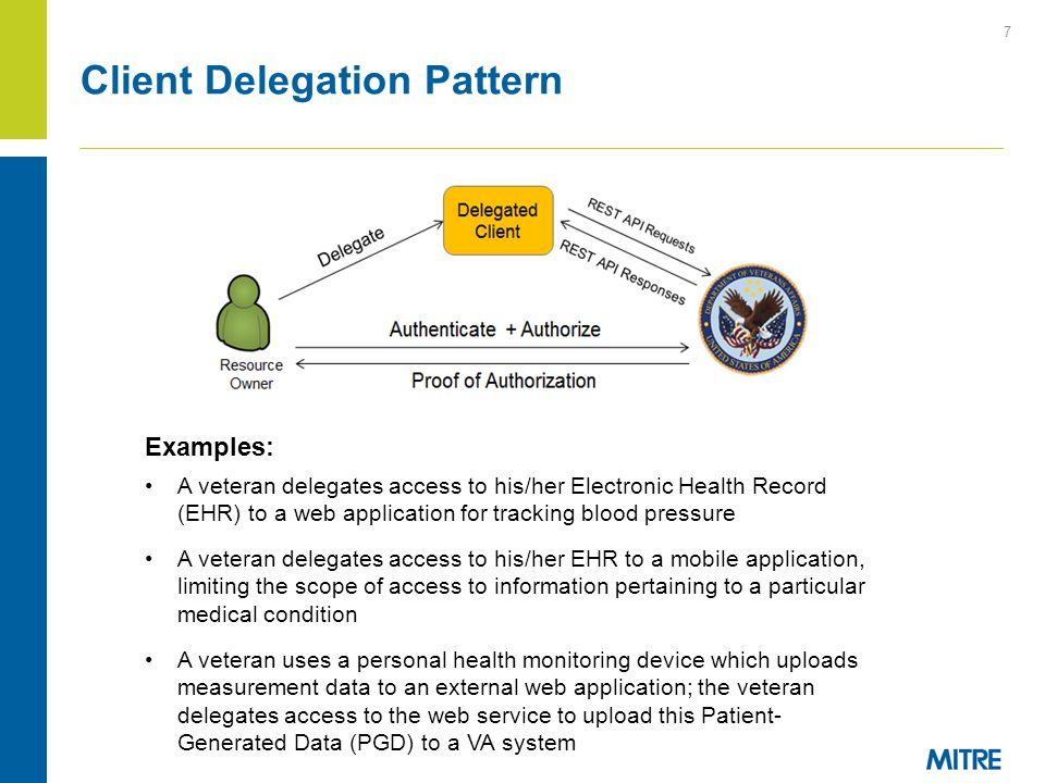 Client Delegation Pattern