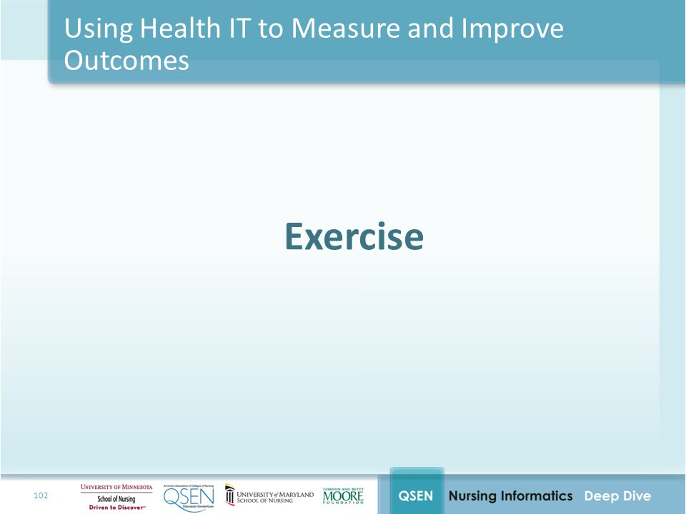 Using Health IT to Measure and Improve Outcomes