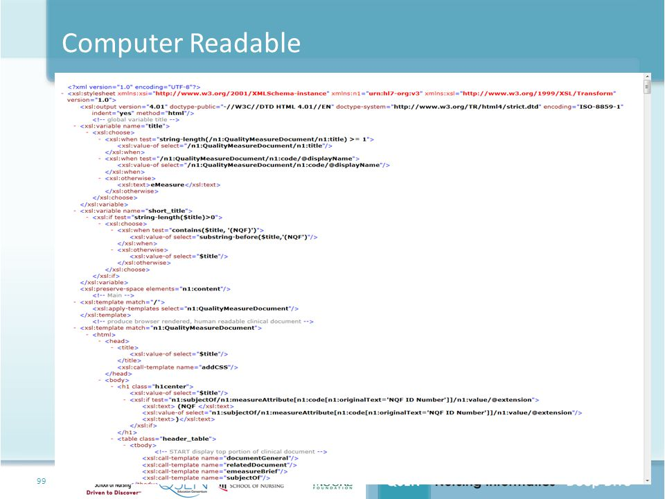 Computer Readable