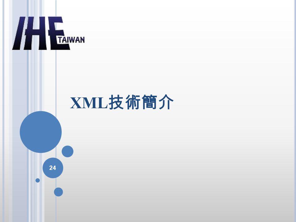 XML技術簡介