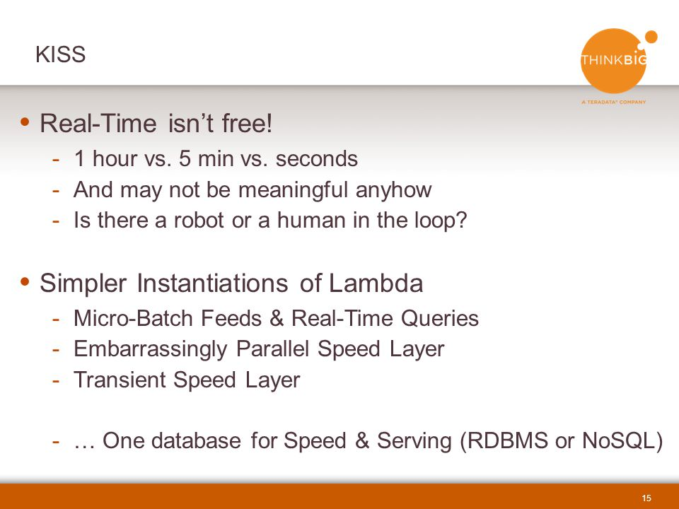 Simpler Instantiations of Lambda
