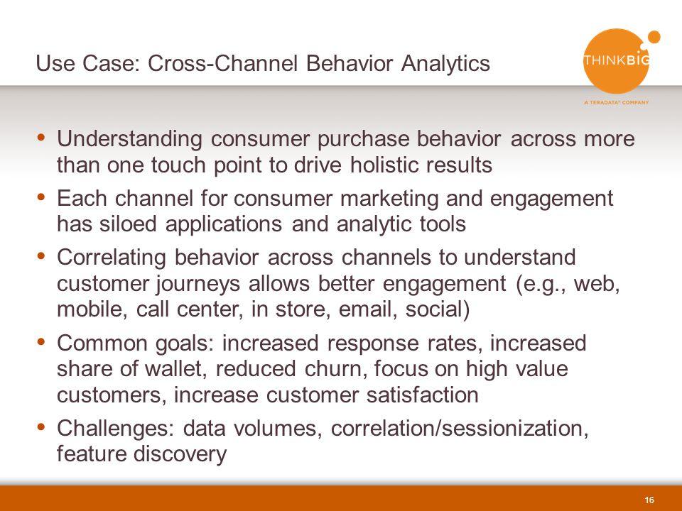 Use Case: Cross-Channel Behavior Analytics