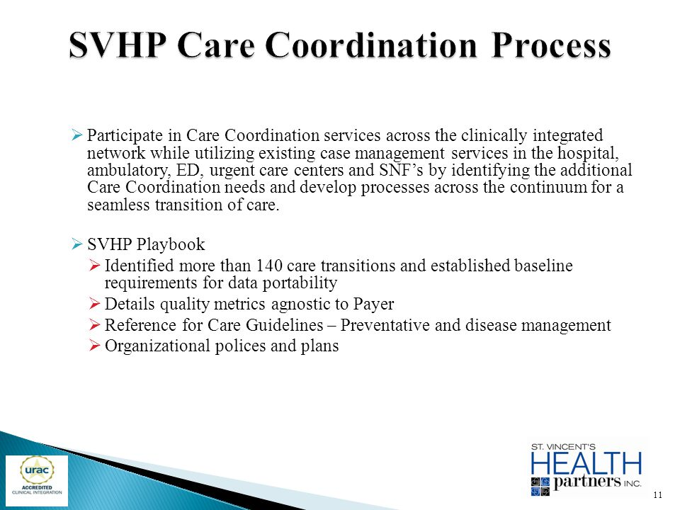 SVHP Care Coordination Process