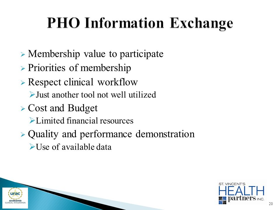 PHO Information Exchange