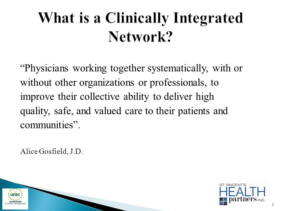 What is a Clinically Integrated Network