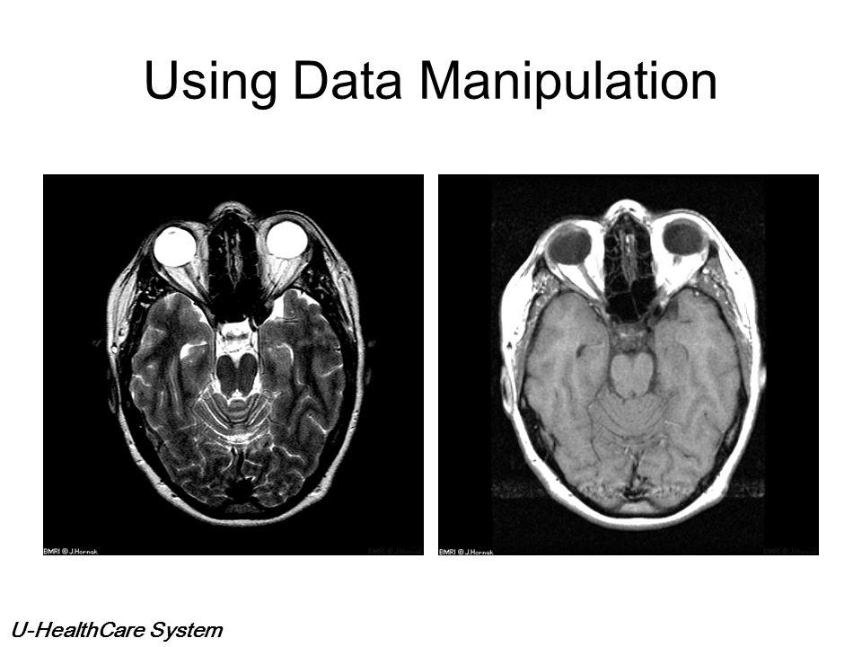Using Data Manipulation