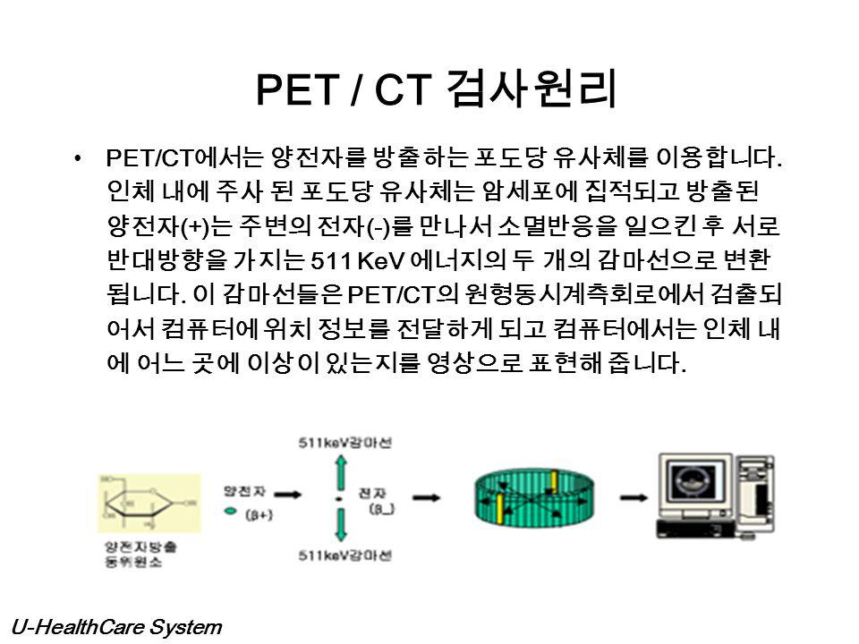 PET / CT 검사원리
