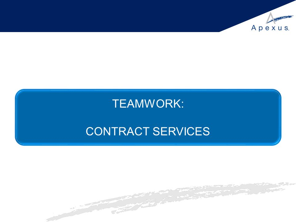 TEAMWORK: CONTRACT SERVICES
