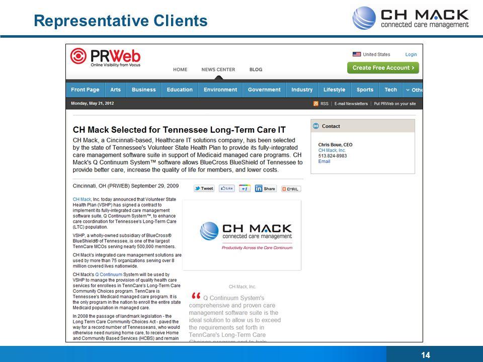 Representative Clients