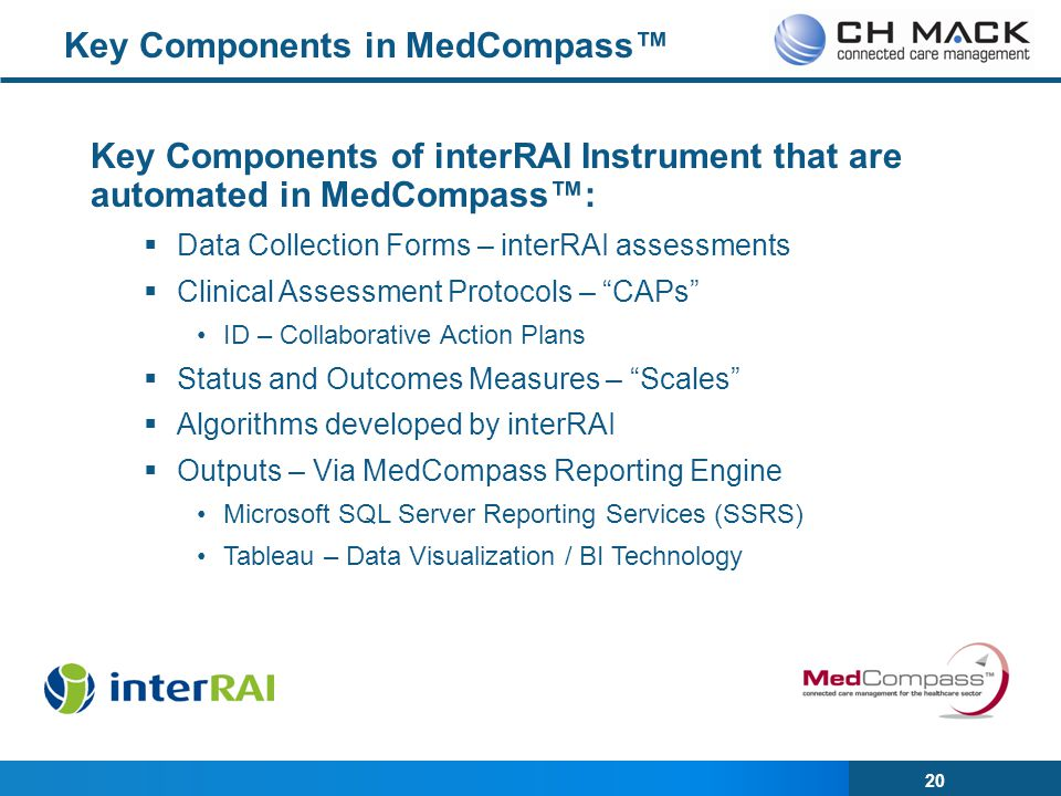 Key Components in MedCompass™