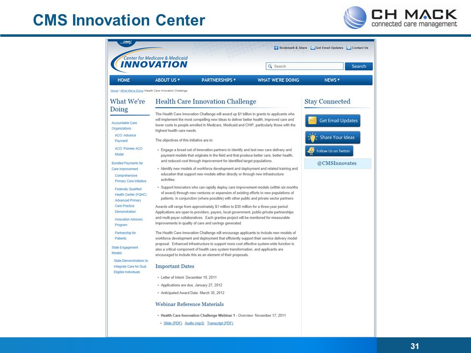 CMS Innovation Center