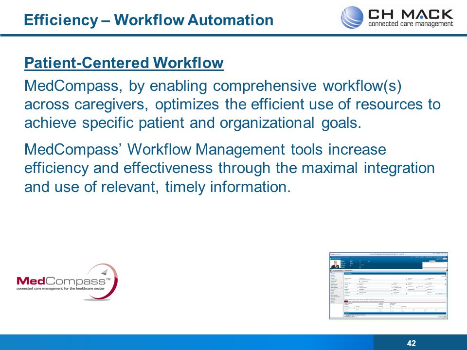 Efficiency – Workflow Automation