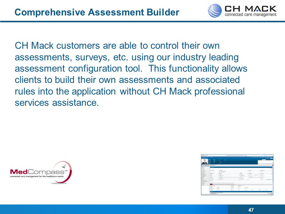 Comprehensive Assessment Builder